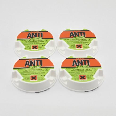 Boite de 4 appâts anti fourmis
