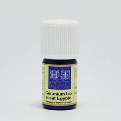 Huiles essentielles de Géranium anti-moustiques