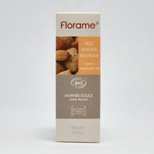Huile végétale amande douce Bio - 50ml - Florame