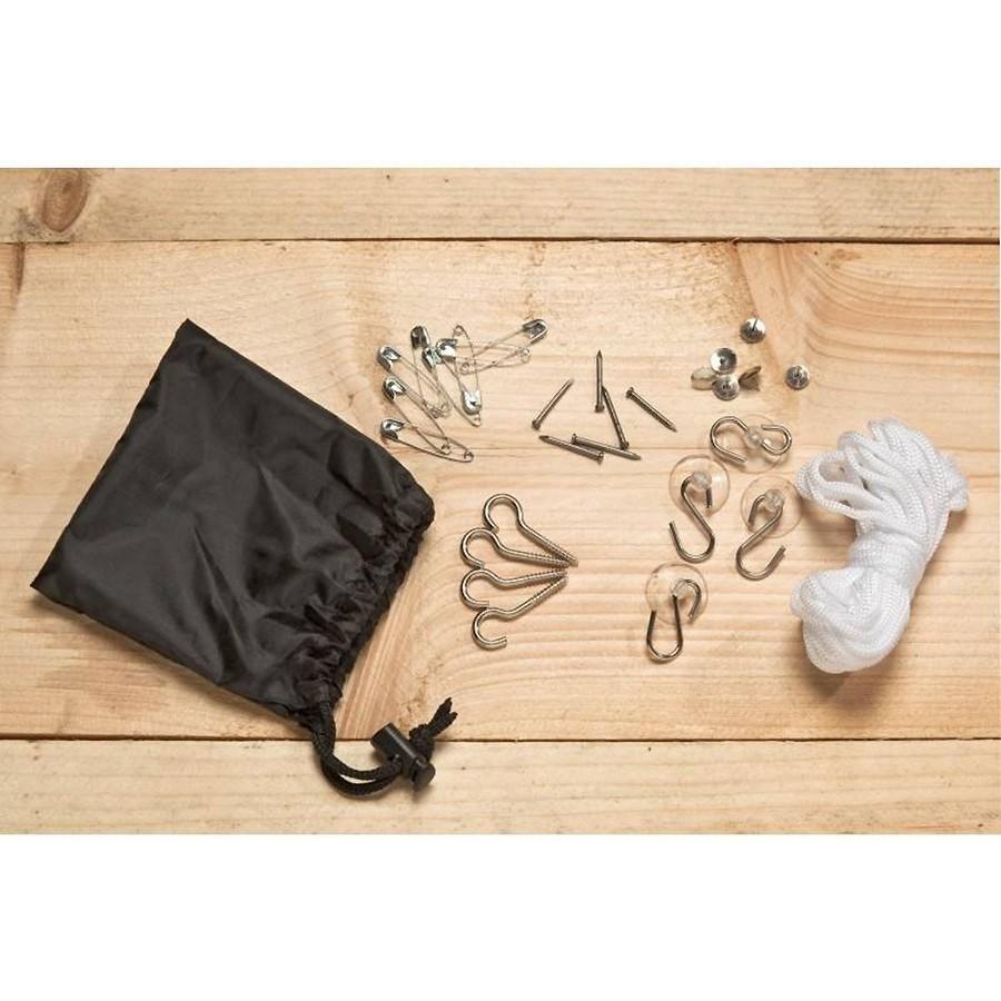 kit de fixation de moustiquaire. Black Bedroom Furniture Sets. Home Design Ideas