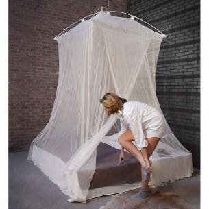 Moustiquaire XL rectangulaire blanche non imprégnée