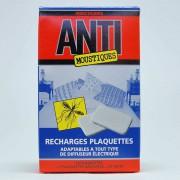 Recharge plaquettes pour diffuseurs électriques anti moustique