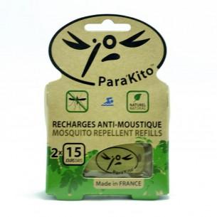 Recharge plaquettes Bracelet anti moustique Para'Kito