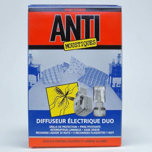 Diffuseur duo electrique anti-moustiques