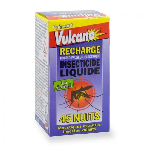 recharge liquide diffuseur anti moustique vulcano. Black Bedroom Furniture Sets. Home Design Ideas