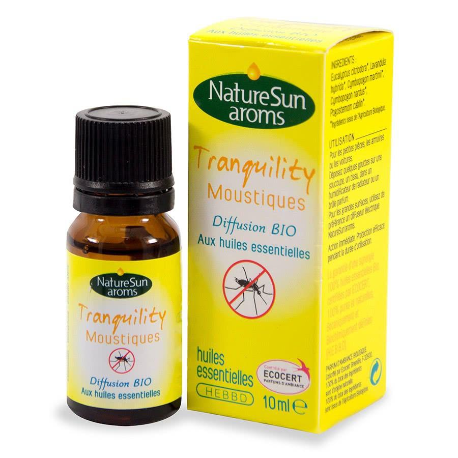 Diffusion bio 10ml tranquility citronnelle - Repulsif fourmi huile essentielle ...