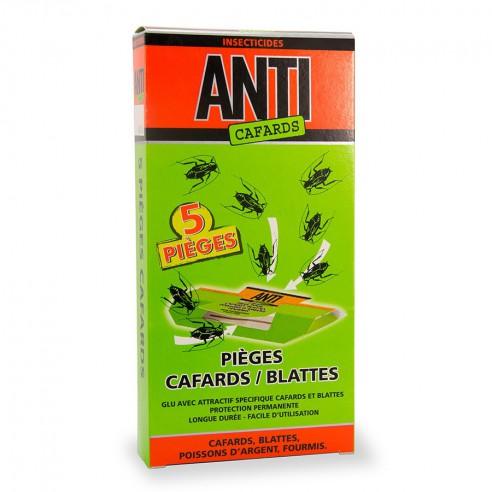 Piege cafards blattes (boite de 5)