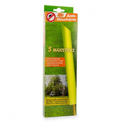 Batonnet Anti Moustiques Maxi Sticks