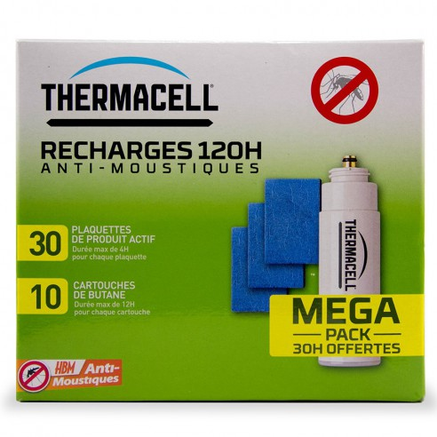Recharge 120h piège ThermaCELL Anti-Moustiques (photo 48h)