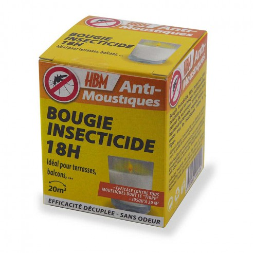 Bougie insecticide anti-moustique