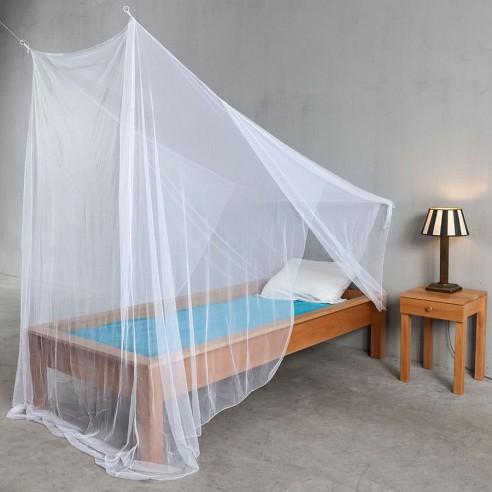Oblique: Moustiquaire 1 place pour grenier ou sous-pente