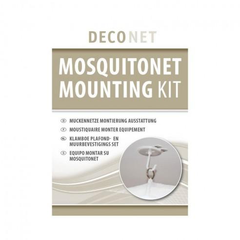 Kit de grands crochets pour moustiquaires