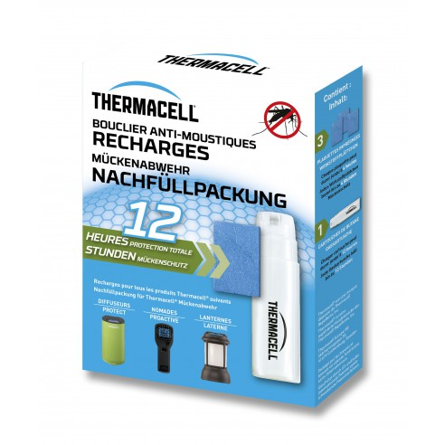 Nouvelle recharge 12h ThermaCELL Anti-Moustiques