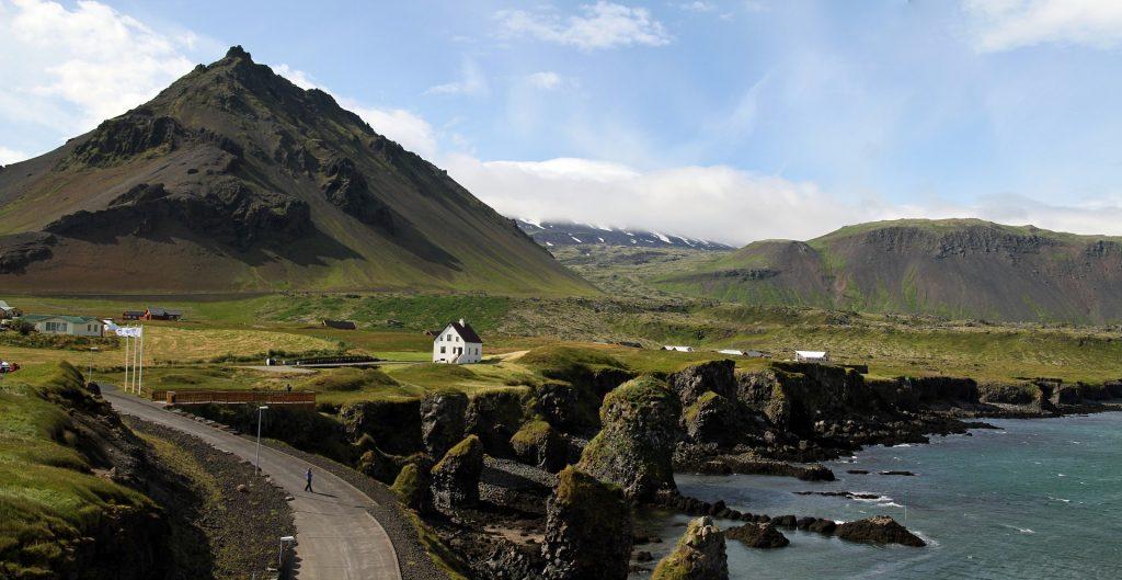 Paysage typique de l'Islande