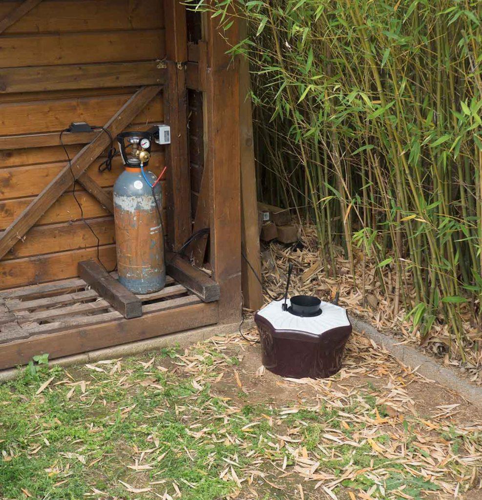 BG Mosquitaire CO2 avec bouteille de Gaz