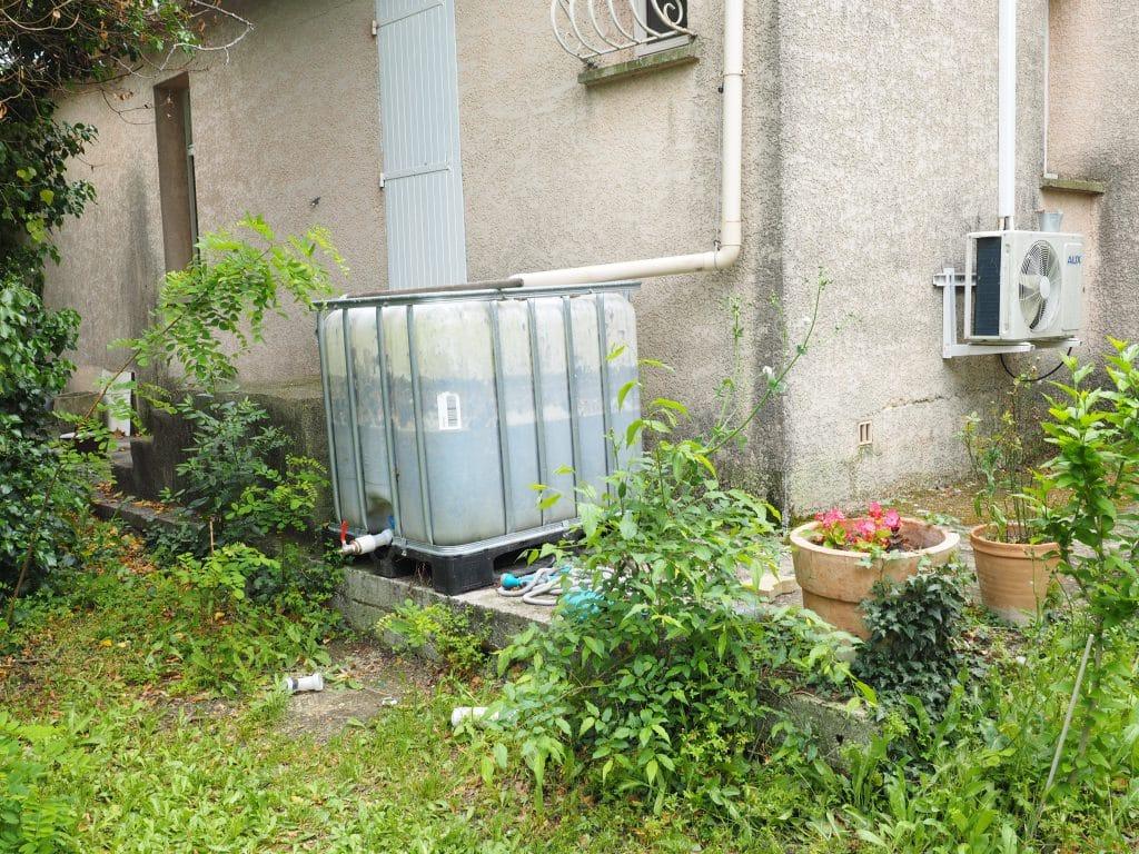 récupérateur d'eau étanche aux moustiques
