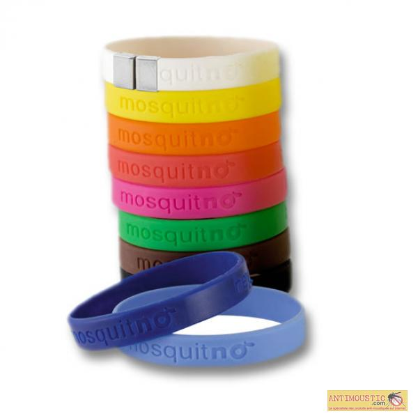 Bracelet Mosquitno - 10 coloris disponibles