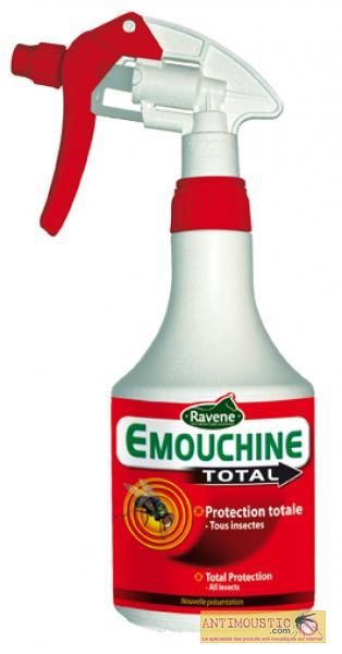 Emouchine total - répulsif insectes pour le cheval