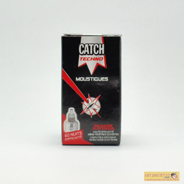 Recharge liquide CATCH pour diffuseur anti moustique électrique
