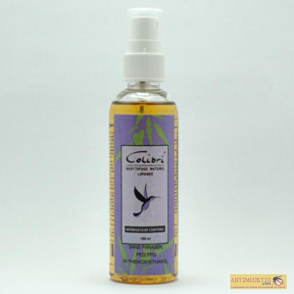 Spray corporel aux huiles essentielles Colibri - Insectifuge naturel