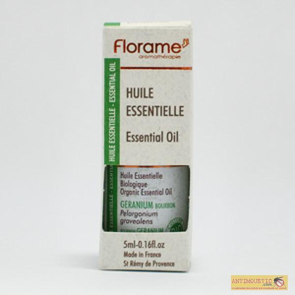 Huile essentielle de géranium Bourbon biologique 5ml