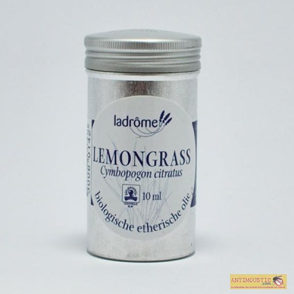 Huile essentielle biologique de Lemongrass