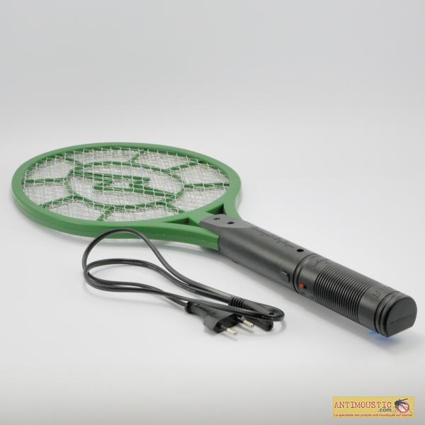 Raquette anti moustiques mouches et insectes electrique - Raquette electrique mouche ...