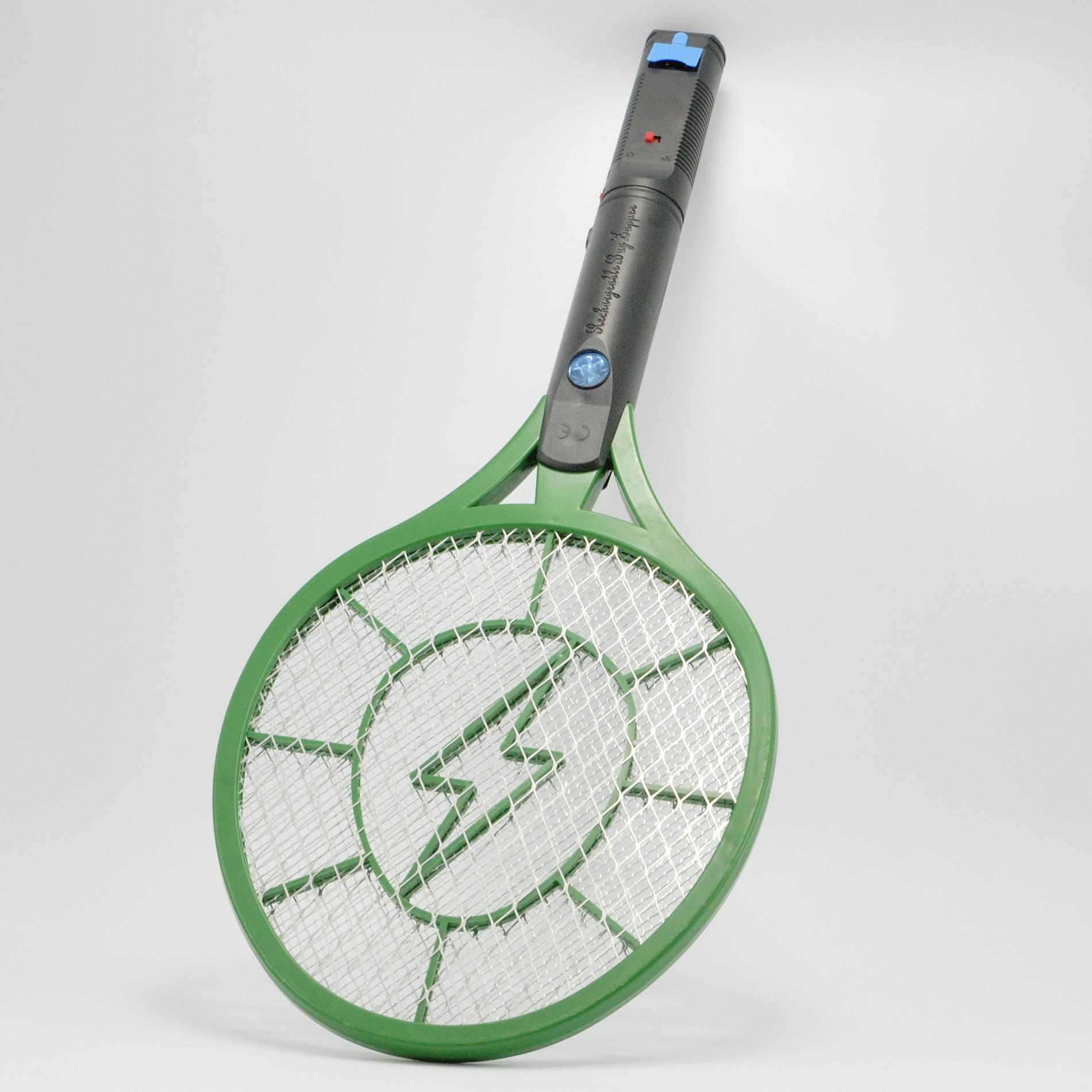 raquette anti moustiques mouches et insectes electrique